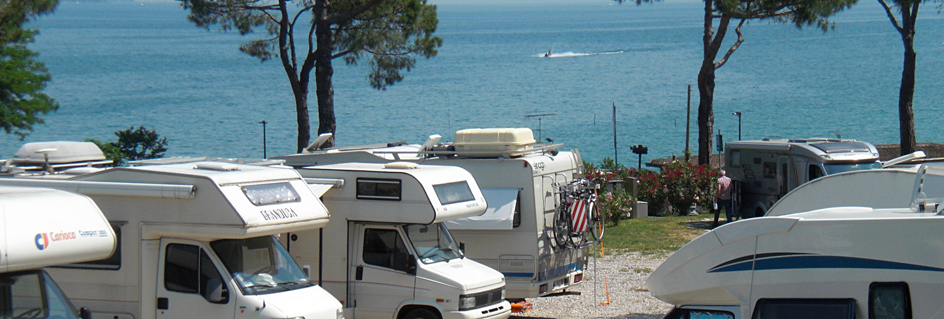 Zone stationnement camping car Desenzano